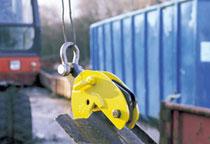 Camlok PP pile pulling clamp