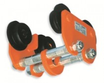 Push trolley for chain block or chain hoist