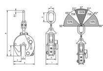 Camlok CX universal plate lifting clamp