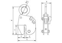 Camlok HG high grip plate lifting clamp
