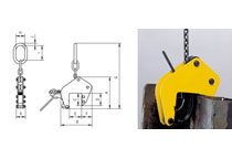 Camlok TAG lifting clamp