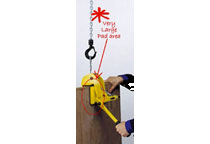 Camlok lifting clamp